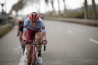 Nils Politt (DEU/Katusha-Alpecin)<br /> <br /> Stage 8: Nice to Nice (110km)<br /> 77th Paris - Nice 2019 (2.UWT)<br /> <br /> ©kramon