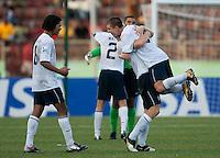 US Under 17 National Team. US Under-17 Men's National Team defeated United Arab Emirates 1-0 at Gateway International  Stadium in Ijebu-Ode, Nigeria on November 1, 2009.