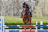 Class: 25 - Mainland Coachwork Junior Rider Series. 2020 NZL-Fiber Fresh GP SJ Show Spring Series Show. Woodhill Sands. Sunday 20 September. Copyright Photo: Libby Law Photography