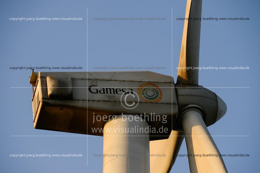 KENYA, Nairobi, Ngong Hills, 25,5 MW Wind Power Station with Gamesa wind turbines, owned and operated by KENGEN Kenya Electricity Generating Company / KENIA, Ngong Hills Windpark, Betreiber KenGen Kenya Electricity Generating Company mit Gamesa Windkraftanlagen