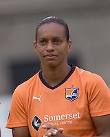 Sky Blue FC midfielder Rosana (11). Sky Blue FC defeated the Boston Breakers, 2-1, at Harvard Stadium on June 13, 2010.