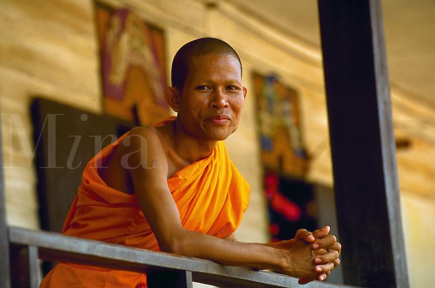 Buddhist monk in Northern Thailand
