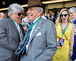 June 7, 2014: Cot Campbell, owner of Palace Malice, is congratulated after his horse won the Metropolitan Mile Handicap on Belmont Stakes Day at Belmont Park in Elmont, New York. Scott Serio/ESW/CSM