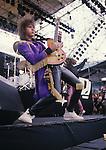 Live photographs and portrait of the band, Bon Jovi.
