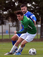 Action from the Chatham Cup football match between Wairarapa United and Napier City Rovers at Hullena Park in Masterton, New Zealand on Sunday, 7 June 2021. Photo: Dave Lintott / lintottphoto.co.nz