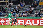 12.09.2020, Ernst-Abbe-Sportfeld, Jena, GER, DFB-Pokal, 1. Runde, FC Carl Zeiss Jena vs SV Werder Bremen<br /> <br /> <br /> Zuschauer in Corona Zeiten Bei Pokalspiel in Jena -<br /> Davie Selke  (SV Werder Bremen #09)<br /> <br />  <br /> <br /> <br /> Foto © nordphoto / Kokenge