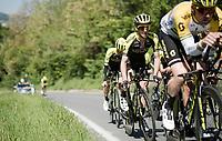 race preparations: Simon Yates (GBR/Mitchelton-Scott) at TT training during the prologue recon ahead of the 102nd Giro d'Italia 2019<br /> <br /> ©kramon