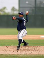 Pedro Lambertus / Milwaukee Brewers 2008 Instructional League..Photo by:  Bill Mitchell/Four Seam Images