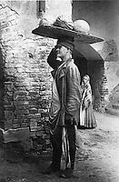 Sukharevsky market. Seller watermelons. Moscow. 1900 / Сухаревский рынок. Продавец арбузов. Москва. 1900-е