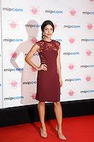 Nazneen - Mipcom Cannes 2016 red carpet at Hotel Martinez