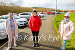 Enjoying a stroll in the Tralee Bay Wetlands on Thursday, l to r: Hannah O'Connor, Kate Leen and Noreen Riordan.