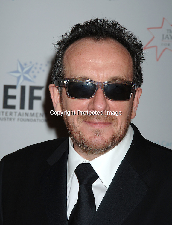 Elvis Costello ..at The Entertainment Industry Foundation National Colorectal Cancer Research Alliance and The Jay Monahan Center for Gastrointestinal Health Hollywood Meets Motown Benefit on March 15, 2006 at The Waldorf Astoria Hotel. ..Robin Platzer, Twin Images
