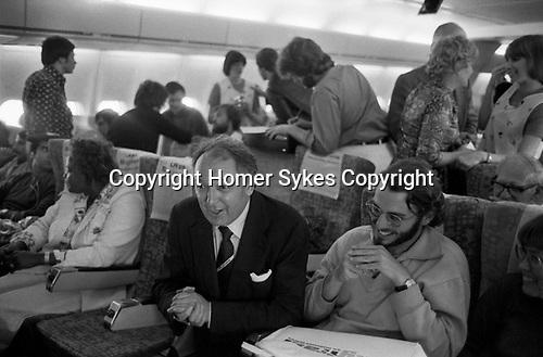 Freddie Laker launched Skytrain, the inaugural flight took place amongst much hype on 26th September 1977. This was a no frills low fare, budget daily service between London Gatwick and JFK in New York.