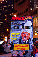 Protesting the Election of Donald Trump Chicago 11-9-16
