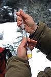 Filling Syringe With Drug