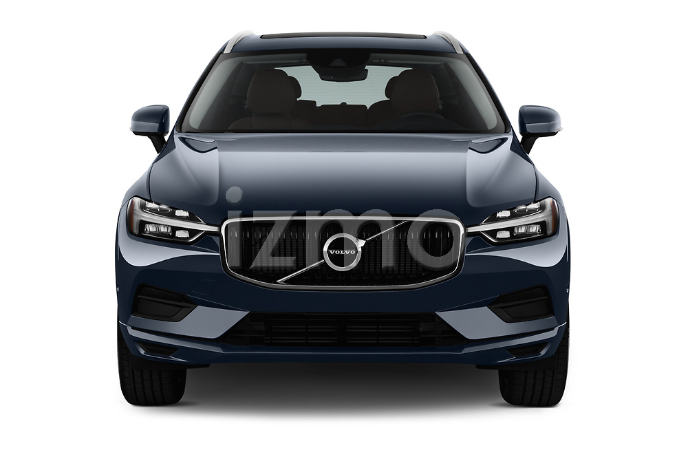 Car photography straight front view of a 2018 Volvo XC60 T5 Momentum 4WD 5 Door SUV