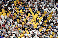 Juventus fans attend, respecting social distancing, <br /> the Serie A 2021/2022 football match between Juventus FC and Empoli Calcio at Allianz stadium in Torino (Italy), August 28th, 2021. Photo Andrea Staccioli / Insidefoto