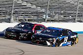 #19: Martin Truex Jr., Joe Gibbs Racing, Toyota Camry SiriusXM, #27: J.J. Yeley, Rick Ware Racing, Ford Mustang Thriv5