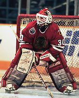 Ed Belfour Chicago Black Hawks. Photo F. Scott Grant