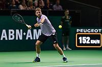 Rotterdam, The Netherlands, 11 Februari 2019, ABNAMRO World Tennis Tournament, Ahoy, Final, Stan Wawrinka (SUI),<br /> Photo: www.tennisimages.com/Henk Koster