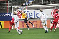 Der Schuss von Steffen Schneider (FC Bayern M¸nchen #9) fliegt an Torwart Daniel Davari (FSV Mainz 05) unhaltbar vorbei ins Eck
