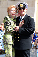 LOS ANGELES - MAY 10:  Jeraldine Saunders, Gavin MacLeod at the Princess Cruises Receive Honorary Star Plaque as Friend of the Hollywood Walk Of Fame at Dolby Theater on May 10, 2018 in Los Angeles, CA