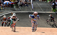 MEDELLIN- COLOMBIA -25-05-2016: Aspecto de las competencias en las categorías infantiles en el marco del Campeonato Mundial de BMX 2016 que se realiza entre el 25 y el 29 de mayo de 2016 en la ciudad de Medellín. / Aspect of competencies in children's categories as part of the 2016 BMX World Championships to be held between 25 and 29 May 2016 in the city of Medellin. Photo: VizzorImage / Cristian Alvarez / CONT