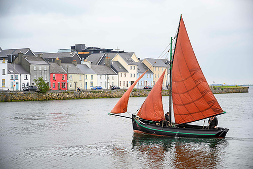 Restored Galway hooker Réalt na Gaillimhe or Star of Galway has joined the local fleet