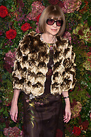 Dame Anna Wintour<br /> arriving for the 2018 Evening Standard Theatre Awards at the Theatre Royal Drury Lane, London<br /> <br /> ©Ash Knotek  D3460  18/11/2018