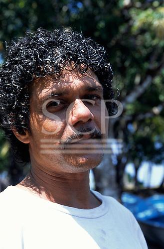 Marenco, Osa Peninsula, Costa Rica. Ricardo, a local man.