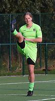 20170825 - WONDELGEM , BELGIUM : VV Alkmaar's Nicolle Martens   pictured during a friendly game between KAA Gent Ladies and VV Alkmaar  during the preparations for the 2017-2018 season , Friday 25 August  2017 ,  PHOTO Dirk Vuylsteke | Sportpix.Be