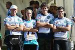 NELSON, NEW ZEALAND - April 3: Godzone Pursuit teams start on April 3 2016 in  Kaiteriteri,Nelson, New Zealand. (Photo by: Evan Barnes Shuttersport Limited)