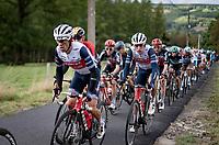 Richie Porte (AUS/Trek-Segafredo) <br /> <br /> 106th Liège-Bastogne-Liège 2020 (1.UWT)<br /> 1 day race from Liège to Liège (257km)<br /> <br /> ©kramon