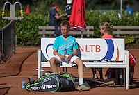 Hilversum, Netherlands, August 8, 2016, National Junior Championships, NJK, Douwe Nijziel   Daan van Mittenburg <br /> Photo: Tennisimages/Henk Koster