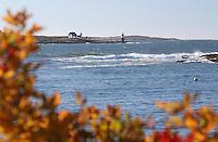 Autumn at Burnt Island Light #Lh60