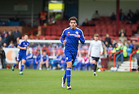 Yasin Ben El-Mhanni of Chelsea U21 during the Barclays U21 Premier League match between Chelsea and Everton at the EBB Stadium, Aldershot, England on 2 May 2016. Photo by Andy Rowland.
