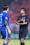Fifa Referee Rowan Arumughan of India gestures during the AFC Champions League 2017 Group G match between Eastern SC (HKG) vs Guangzhou Evergrande FC (CHN) at the Mongkok Stadium on 25 April 2017, in Hong Kong, China. Photo by Chung Yan Man / Power Sport Images