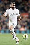 Real Madrid's Daniel Carvajal during La Liga match. April 2,2016. (ALTERPHOTOS/Acero)