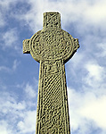 The Maclean Celtic Cross Iona. Argyll and Bute Strathclyde Scotland. Celtic Britain published by Orion