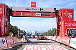 Romain Bardet (FRA) Team DSM wins Stage 14 of La Vuelta d'Espana 2021, running 165.7km from Don Benito to Pico Villuercas, Spain. 28th August 2021.     <br /> Picture: Cxcling   Cyclefile<br /> <br /> All photos usage must carry mandatory copyright credit (© Cyclefile   Cxcling)