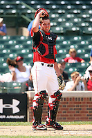 August 18 2008:  Austin Maddox (19) of the Team One team during the 2008 Under Armour All-American Game at Wrigley Field in Chicago, IL.  Photo by:  Mike Janes/Four Seam Images