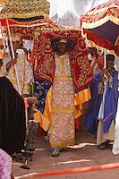 Timkat procession in Lalibela Ethiopia