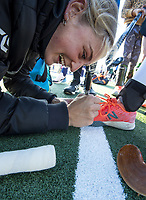 Katie Doar. Vantage Black Sticks hockey community session prior to the upcoming Sentinel Homes Trans-Tasman Series at Twin Turfs in Palmerston North, New Zealand on Tuesday, 25 May 2021. Photo: Dave Lintott / lintottphoto.co.nz