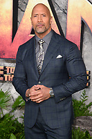 "Dwayne Johnson<br /> arriving for the ""Jumanji: Welcome to the Jungle"" premiere at the Vue West End, Leicester Square, London<br /> <br /> <br /> ©Ash Knotek  D3358  07/12/2017"