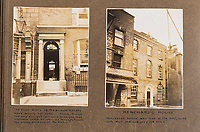 BNPS.co.uk (01202 558833)<br /> Pic: ForumAuctions/BNPS<br /> <br /> 'Henchards House' in the heart of Dorchester during the good times...<br /> <br /> Extraordinary photo album reveals Thomas Hardy as personal tour guide around his most famous novel.<br /> <br /> A personalised photograph album documenting a guided tour of 'Casterbridge' that novelist Thomas Hardy gave a literary friend has emerged almost 100 years later.<br /> <br /> The famous author showed playwright John Drinkwater the real-life locations that inspired him to write the classic 1886 novel The Mayor of Casterbridge.<br /> <br /> Mr Drinkwater took photographs of various venues that feature prominently in the novel.<br /> <br /> He also captured some of the last images of Hardy who died two years later.