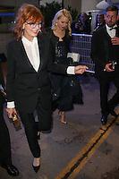 susan sarandon quittant le palais des festivals apres le repas d ouverture du soixante neuvieme festivals du film a cannes se deroulant au salon des ambassadeurs le mercredi 11 mai 2016