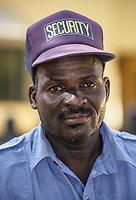 Nigerien Security Guard, Niamey, Niger.