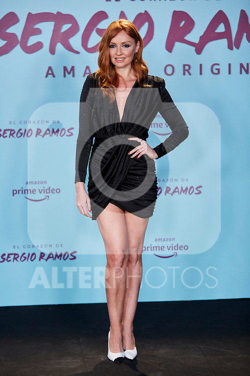 "Cristina Castano attends to ""El Corazon De Sergio Ramos"" premiere at Reina Sofia Museum in Madrid, Spain. September 10, 2019. (ALTERPHOTOS/A. Perez Meca)"