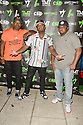 MIAMI, FLORIDA - JUNE 03: Rico Young, James McNair and Shabazz The OG attends The Money Team Fight Weekend Kickoff at Victory Restaurant and Lounge on June 03, 2021 in Miami, Florida. ( Photo by Johnny Louis / jlnphotography.com )