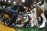 Tulane defeats South Alabama, 84-73, in the first round of the CollegeInsider.com Tournament, played at Devlin Fieldhouse.
